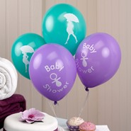BALONY BABY SHOWER - 8 SZT.